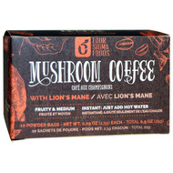 Four Sigmatic, Mushroom Coffee Mix, Think With Lions Mane & Chaga, 10 Packets, 0.09 oz (2.5 g) Each