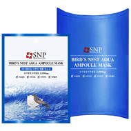 SNP, Birds Nest Aqua Ampoule Mask, 1000 mg, 10 Packets, 25 ml Each