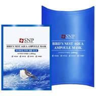 SNP, Birds Nest Aqua Ampoule Mask, 1000 mg, 10 Packets, 25 ml Each