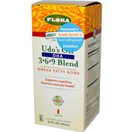 Flora Udos Choice Udos Oil DHA 3-6-9 Blend -- 8.5 fl oz