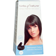 Tints of Nature, Permanent Color, Natural Black, 1N, 4.4 fl oz (130 ml)