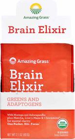 Amazing Grass Organic Brain Elixir - 10 Servings