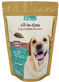 NaturVet All-In-One Supplement Powder for Dogs & Cats - 13 oz
