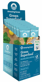 Amazing Grass Green SuperFood Alkalize & Detox - 15 Packets
