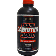 Nutrex Research Labs, Liquid Carnitine 3000, Berry Blast, 16 fl oz (473 ml)
