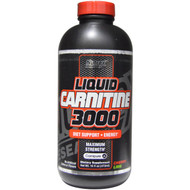 Nutrex Research Labs, Liquid Carnitine 3000, Cherry Lime, 16 fl oz (473 ml)