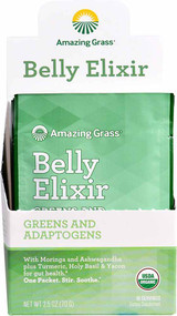 Amazing Grass Organic Belly Elixir - 10 Servings