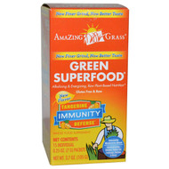 Amazing Grass Green Superfood Immunity Defense Tangerine - 15 Packets