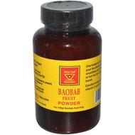 African Red Tea Imports, Baobab Fruit Powder, 4 oz (100 g)