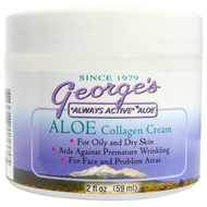 Georges Aloe Vera, Aloe Collagen Cream, 2 fl oz (59 ml)
