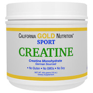 California Gold Nutrition, Creatine Powder, Micronized Creatine Monohydrate, Creapure, Unflavored, 16 oz (454 g)