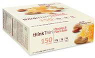 thinkThin Lean Protein & Fiber Bars Honey Drizzle Peanut - 10 Bars