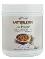Vitaco, - Earth Blends Pea Protein Powder - Non-GMO and Gluten Free,  Chocolate - 26.46 oz (750 g)