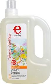 Earthy Clean Clothes Laundry Detergent Petitgrain - 70 fl oz
