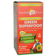 Amazing Grass Green Superfood Energy Drink Powder Watermelon - 15 Packets