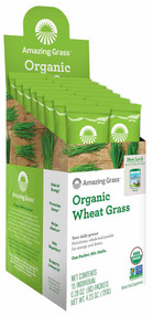 Amazing Grass, Organic Wheat Grass, 15 Individual Packets,  0.28 oz (8 g) Each