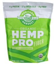 Manitoba Harvest, Organic Hemp Pro Fiber - 2 lbs
