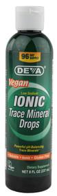 Deva Ionic Trace Mineral Drops - 8 fl oz
