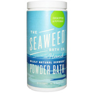 Seaweed Bath Co., Wildly Natural Seaweed Powder Bath, Eucalyptus & Peppermint, 16.8 oz (476 g)