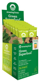 Amazing Grass Green SuperFood Drink Powder - 15 Packets