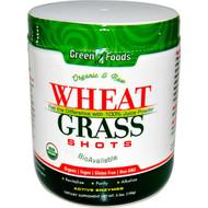 Green Foods Corporation, Organic & Raw Wheat Grass Shots, 5.3 oz (150 g)