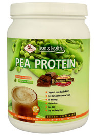 Olympian Labs, Lean and Healthy Pea Protein,  Chocolate - 13 Servings