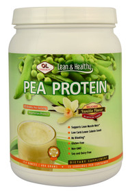 Olympian Labs, Lean and Healthy Pea Protein,  Vanilla - 13 Servings