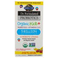 Garden of Life, Dr. Formulated Probiotics Organic Kids+, Probiotics + Vitamins C & D, 5 Billion, Tasty Organic Strawberry Banana, 30 Yummy Chewables