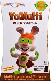 Vitamin Friends YoMulti Multi-Vitamin Chocolate - 20 Bears