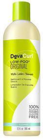DevaCurl Low-Poo Hair Cleanser - 12 fl oz