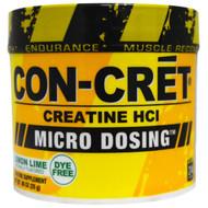 Con-Cret, Creatine HCI, Micro-Dosing, Lemon Lime, .88 oz (25 g)