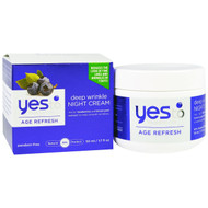 Yes to, Age Refresh, Deep Wrinkle Night Cream, Bluberries, 1.7 fl oz (50 ml)