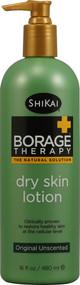 Shikai, Borage Therapy Dry Skin Lotion Unscented - 16 fl oz