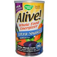 Nature's Way, Alive! Ultra Shake, Vanilla Flavor, 21 oz (585g)