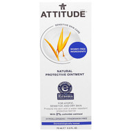 ATTITUDE, Sensitive Skin Care, Natural Protective Ointment, Fragrance Free, 2.5 fl oz (75 ml)