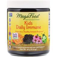 MegaFood, Kids Daily Immune, Unsweetened , 2.3 oz (66 g)