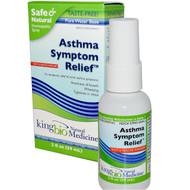 King Bio Homeopathic, Asthma Symptom Relief, 2 fl oz (59 ml)