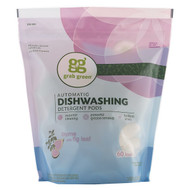 Grab Green, Automatic Dishwashing Detergent Pods, Thyme with Fig Leaf, 60 Loads,2lbs, 6oz (1,080 g)