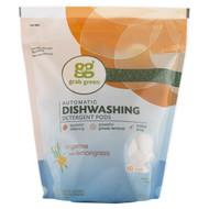 GrabGreen, Automatic Dishwashing Detergent Pods, Tangerine with Lemongrass, 60 Loads, 2lbs, 6oz (1,080 g)