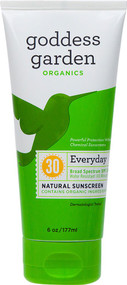 Goddess Garden, Organics, Everyday Natural Mineral Sunscreen, SPF 30, 6 oz (170 g)