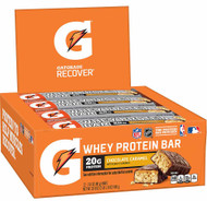 Gatorade Whey Protein Bar Chocolate Caramel - 12 Pack