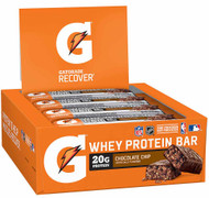 Gatorade Whey Protein Bar Chocolate Chip - 12 Pack
