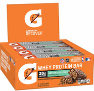 Gatorade Whey Protein Bar Mint Chocolate Crunch - 12 Pack