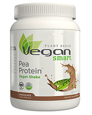 VeganSmart, Pea Protein Vegan Shake, Chocolate, 20.6 oz (585 g)
