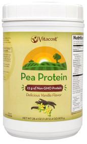 Vitaco ROOT2 Pea Protein - Non-GMO and Gluten Free Natural Vanilla -- 28.4 oz (1 lb 12.4 oz) 805 g