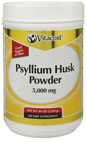 Vitaco, Psyllium Husk Powder - 5000 mg - 44 oz (1,250 g)