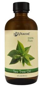 Vitacost Essential Oils 100% Pure Tea Tree - 4 fl oz (118 mL)
