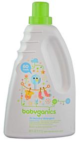 Babyganics, 3X Laundry Detergent Fragrance Free - 60 fl oz