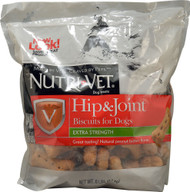 Nutri-Vet Hip and Joint Biscuits for Dogs Peanut Butter - 6 lbs