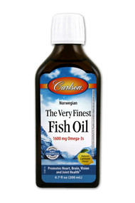Carlson, The Very Finest Fish Oil,  Lemon - 6.7 fl oz